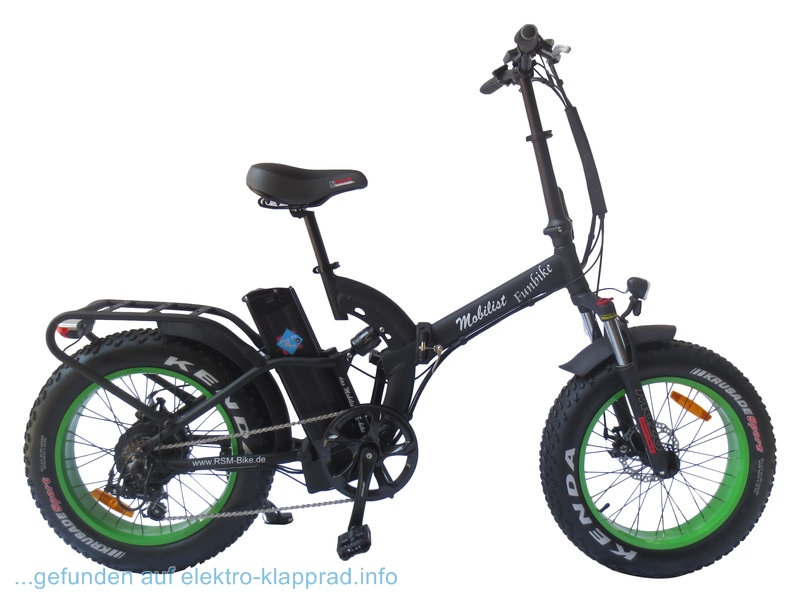 rsm mobilist fun bike 20 zoll elektro klapprad 2 elektro. Black Bedroom Furniture Sets. Home Design Ideas